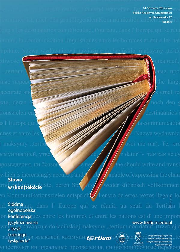 Plakat konferencji Język trzeciego tysiąclecia VII